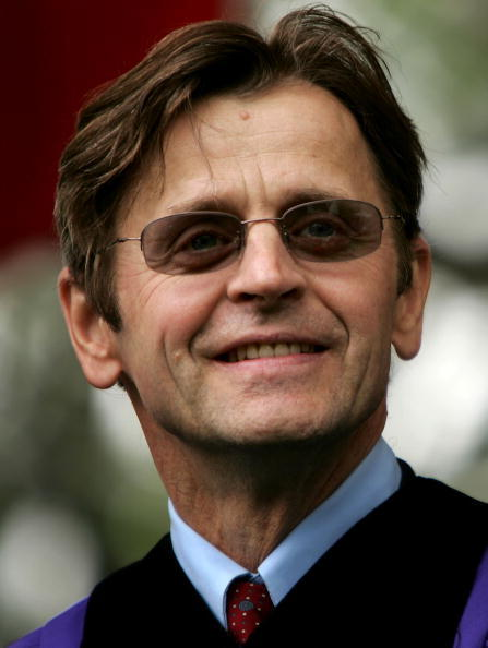 Mikhail Baryshnikov at the New York University during the 174th commencement exercises.