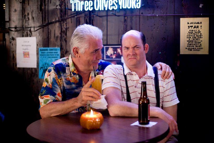 James Brolin as Ben Selleck and David Koechner as Brent Gage in
