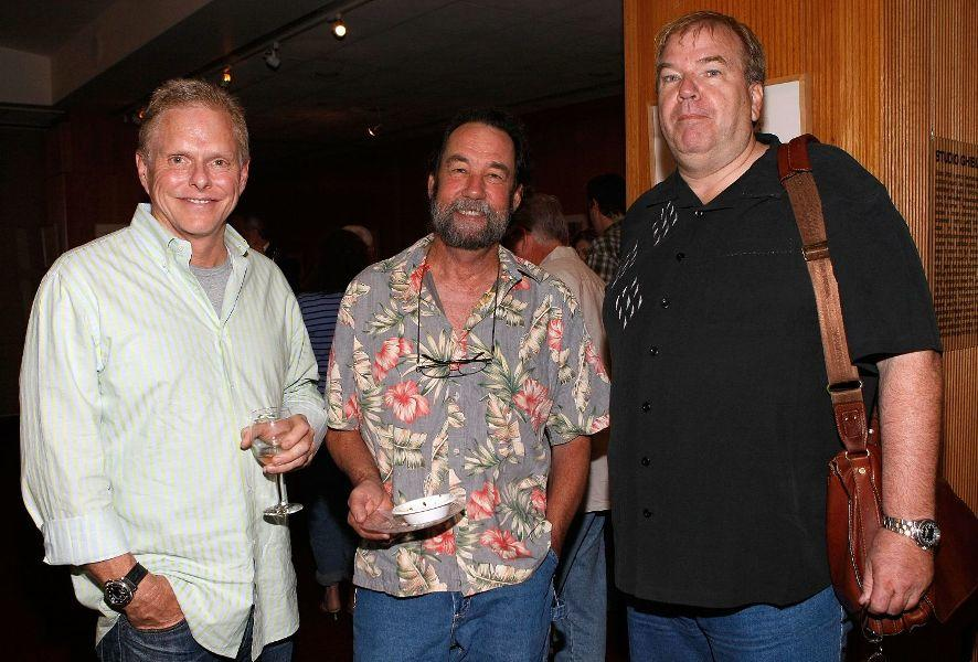 Todd Hallowell, Matt Sweeney and Dan Bradley at the AMPAS presentation of