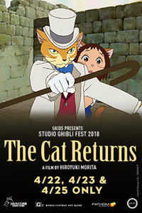 The Cat Returns – Studio Ghibli Fest 2018