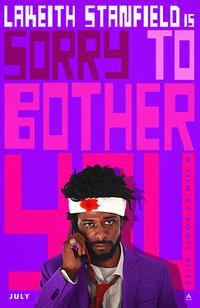 Sorry to Bother You poster