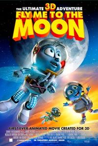 Fly Me to the Moon 3-D poster