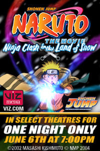 Naruto the Movie poster