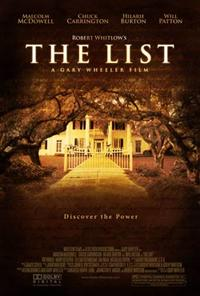 The List (2007) poster