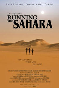 Running the Sahara poster