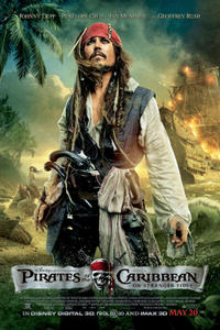 Pirates of the Caribbean: On Stranger Tides poster