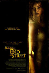 House at the End of the Street poster