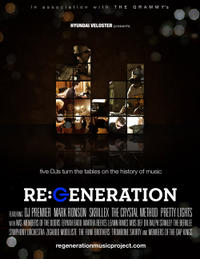 Re:Generation Music Project poster