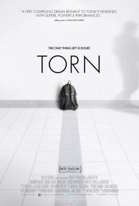 Torn poster
