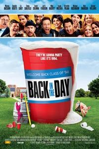 Back in the Day (2014) poster
