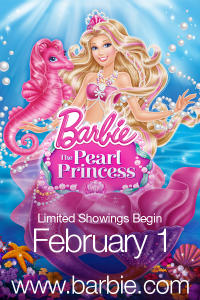 Barbie: The Pearl Princess poster