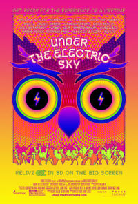 Under the Electric Sky 3D poster