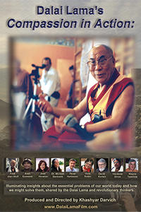 Dalai Lama's Compassion in Action poster