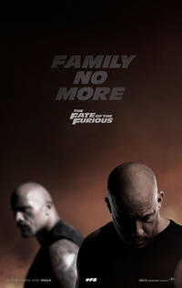 Fate of the Furious poster