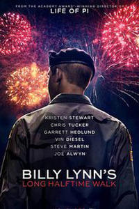 Billy Lynn's Long Halftime Walk poster