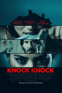 Knock Knock (2015) poster