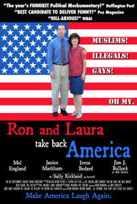 Ron and Laura Take Back America poster