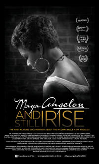 Maya Angelou and Still I Rise poster