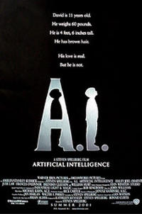 A.I.: Artificial Intelligence poster