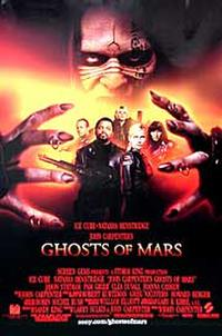 John Carpenter's Ghosts of Mars poster