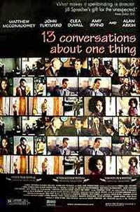 13 Conversations About One Thing poster