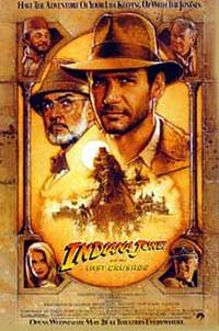 Indiana Jones and the Last Crusade (1989) poster