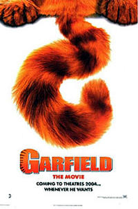 Garfield: The Movie (2004) poster