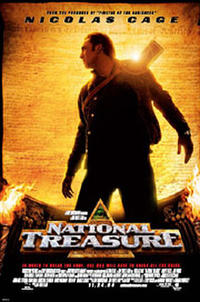 National Treasure (2004) poster