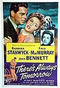 There's Always Tomorrow poster