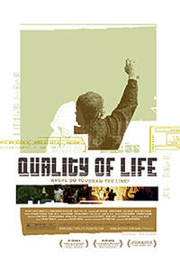Quality of Life poster