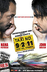 Taxi 9211 poster