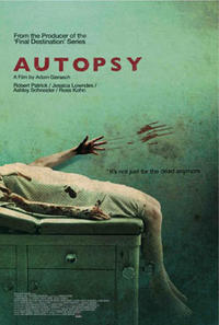 Autopsy poster