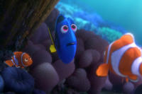 Dory and Marlin in Finding Dory