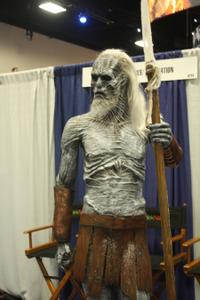 Comic-Con Convention Floor Game of Thrones White Walker