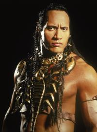 Dwayne Johnson in THE MUMMY RETURNS