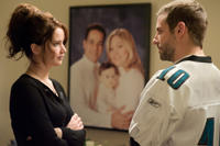 Jennifer Lawrence and Bradley Cooper in Silver Linings Playbook (2011)