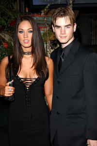 Megan Fox and David Gallagher