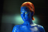 Jennifer Lawrence as Mystique in X-Men Days of Future Past