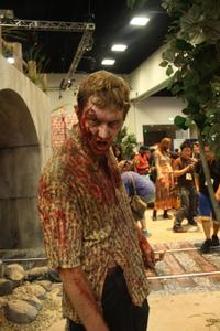 Comic-Con Convention Floor The Walking Dead