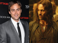 Viggo Mortensen Stuart Townsend Lord of the Rings' Trilogy