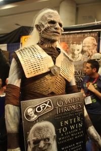 Comic-Con Convention Floor White Walker Game of Thrones
