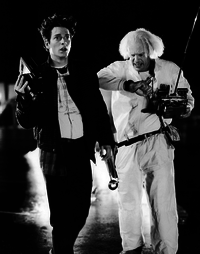 Michael J. Fox Eric Stoltz Back to the Future