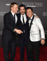 Alan Tudyk, Diego Luna and Donnie Yen