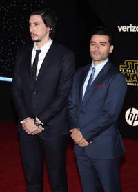 Adam Driver and Oscar Isaac