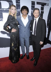 Anya Taylor-Joy, M. Night Shyamalan and James McAvoy