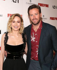 Brie Larson and Armie Hammer