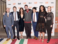 Simon Barrett, James Allen McCune, Callie Hernandez, Adam Wingard, Wes Robinson, Corbin Reid and Valorie Curry