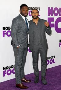 Curtis '50 Cent' Jackson and Omari Hardwick