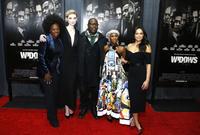 Viola Davis, Elizabeth Debicki, Steve McQueen, Cynthia Erivo and Michelle Rodriguez