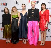 Jessica Harper, Chloe Grace Moretz, Mia Goth and Dakota Johnson
